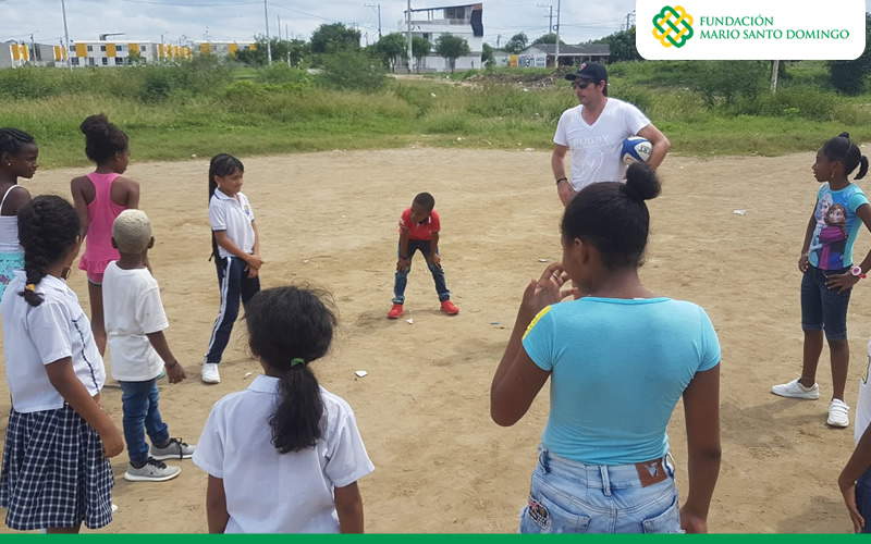 Rugby con sentido social llegó al caribe colombiano